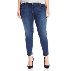 Lucky Brand Ginger Skinny Ankle Jeans - Plus
